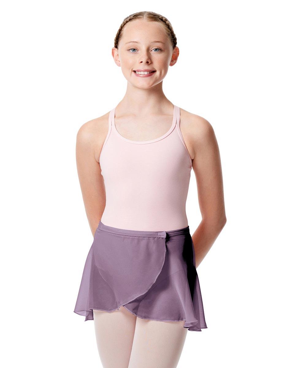 Girls Wrap Over Ballet Skirt Sasha LAV