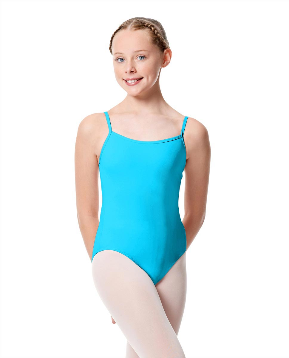 Girls Camisole Dance Matte Leotard Oriane TUR