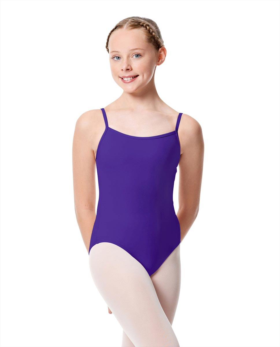Girls Camisole Dance Matte Leotard Oriane UMA