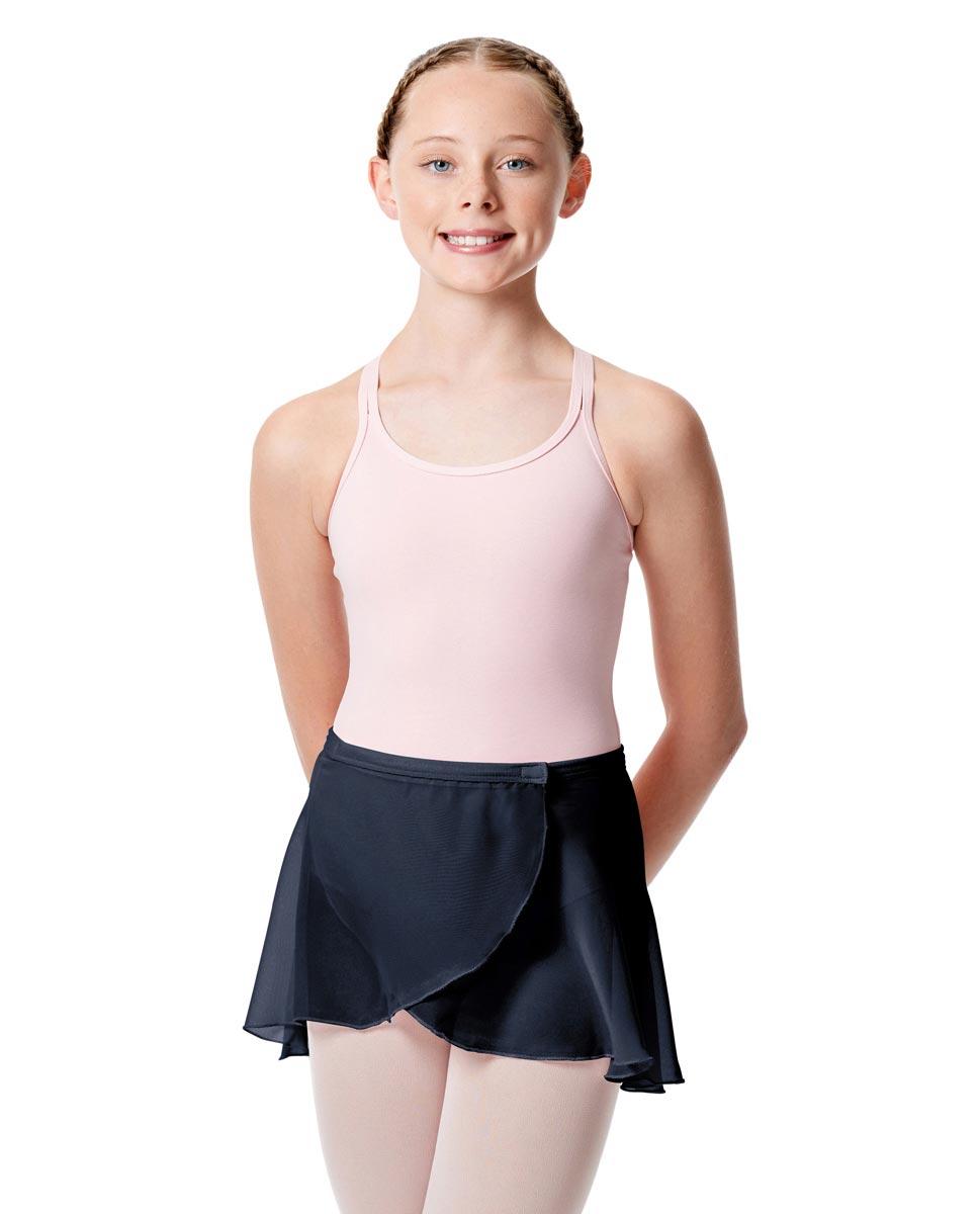 Girls Wrap Over Ballet Skirt Sasha NAY