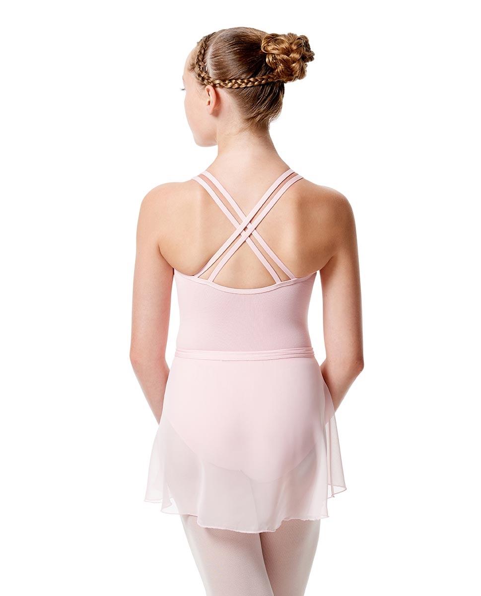 Girls Wrap Over Ballet Skirt Sasha back