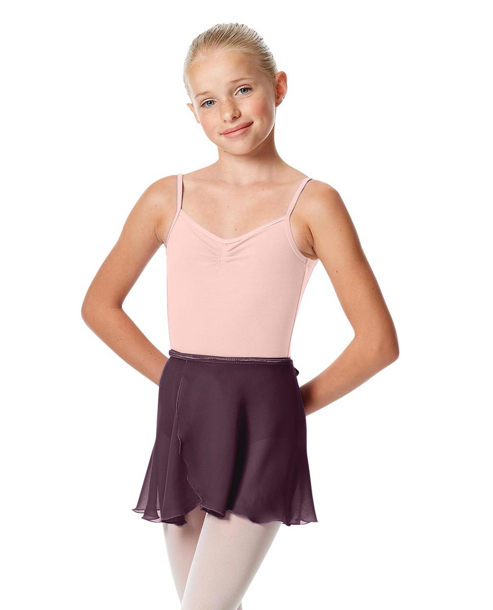 Girls Short Wrap Ballet Skirt Viola AUB