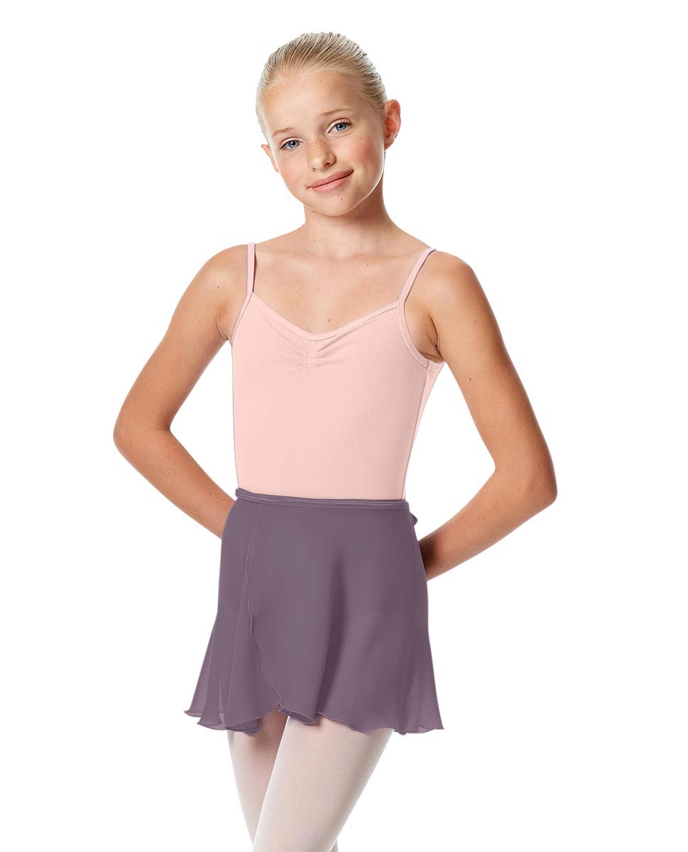 Girls Short Wrap Ballet Skirt Viola LAV