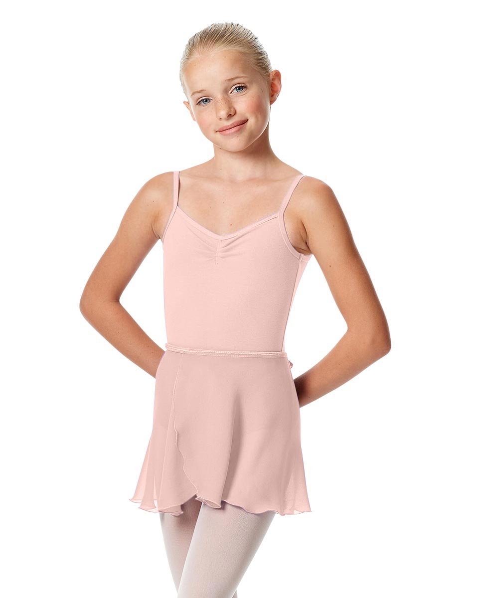 Girls Short Wrap Ballet Skirt Viola PNK