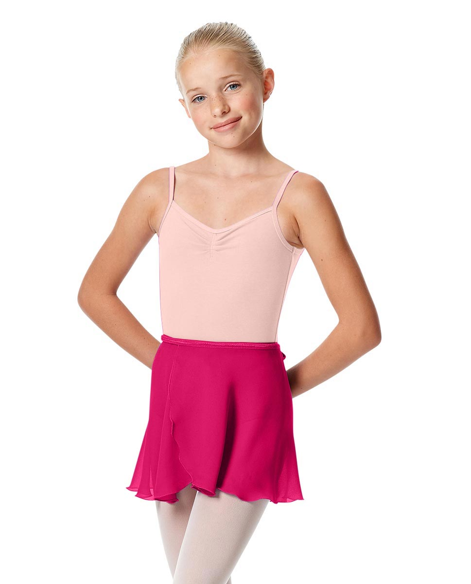 Girls Short Wrap Ballet Skirt Viola RAS