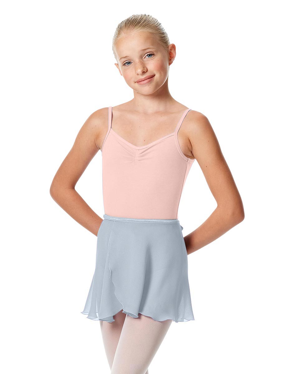 Girls Short Wrap Ballet Skirt Viola SKY