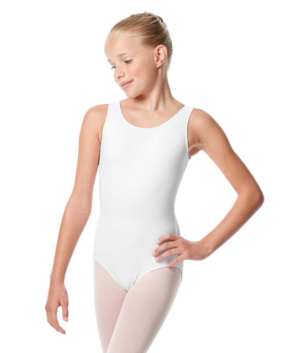 Child Tank Dance Leotard Alessandra WHI