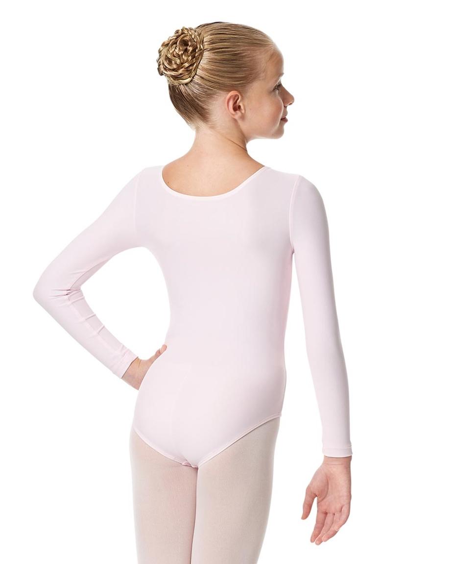 Child Matte Long Sleeve Dance Leotard Sylvie back-child-matte-long-sleeve-dance-leotard-sylvie