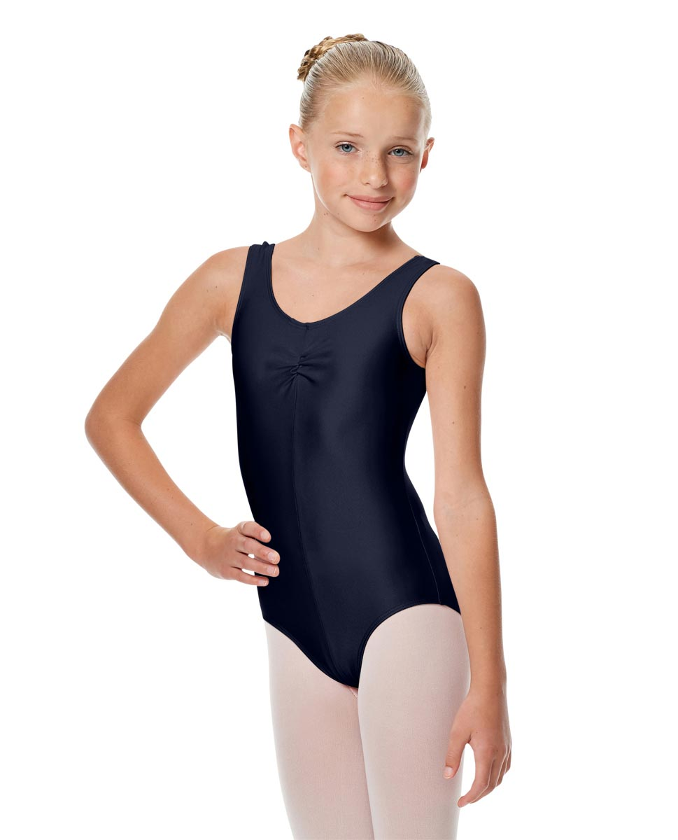 Girls Shiny Pinch Front Ballet Leotard Eleonore NAY