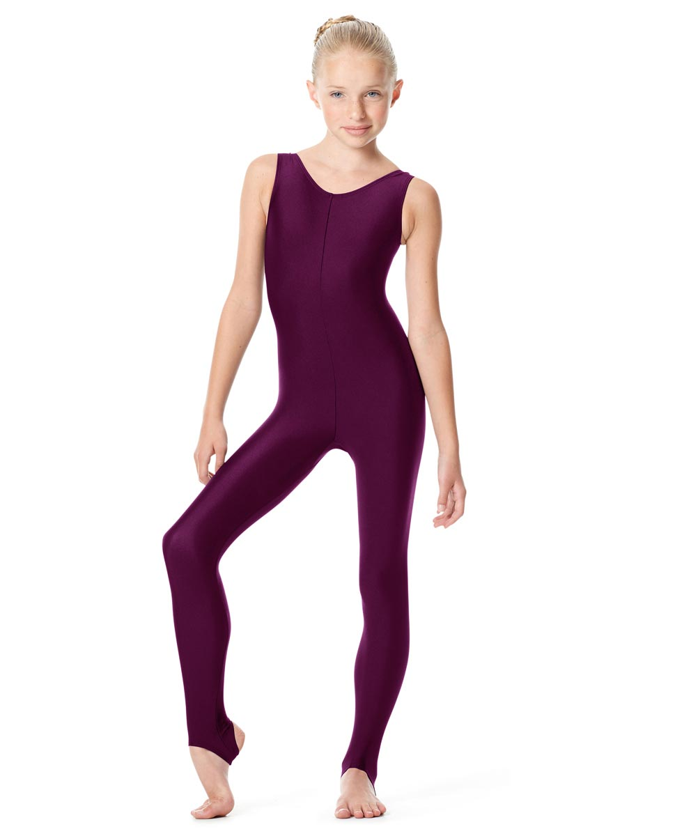 Girls Tank Stirrup Dance Unitard Matilde EGG