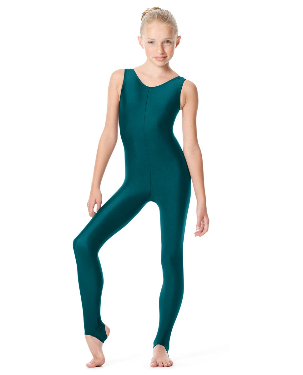 Girls Tank Stirrup Dance Unitard Matilde TEA