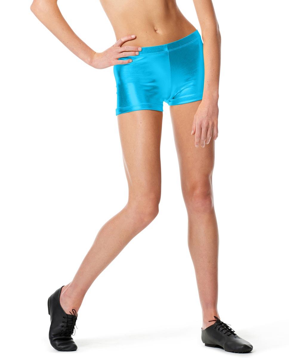 Womens Metallic Dance Shorts Janna TUR
