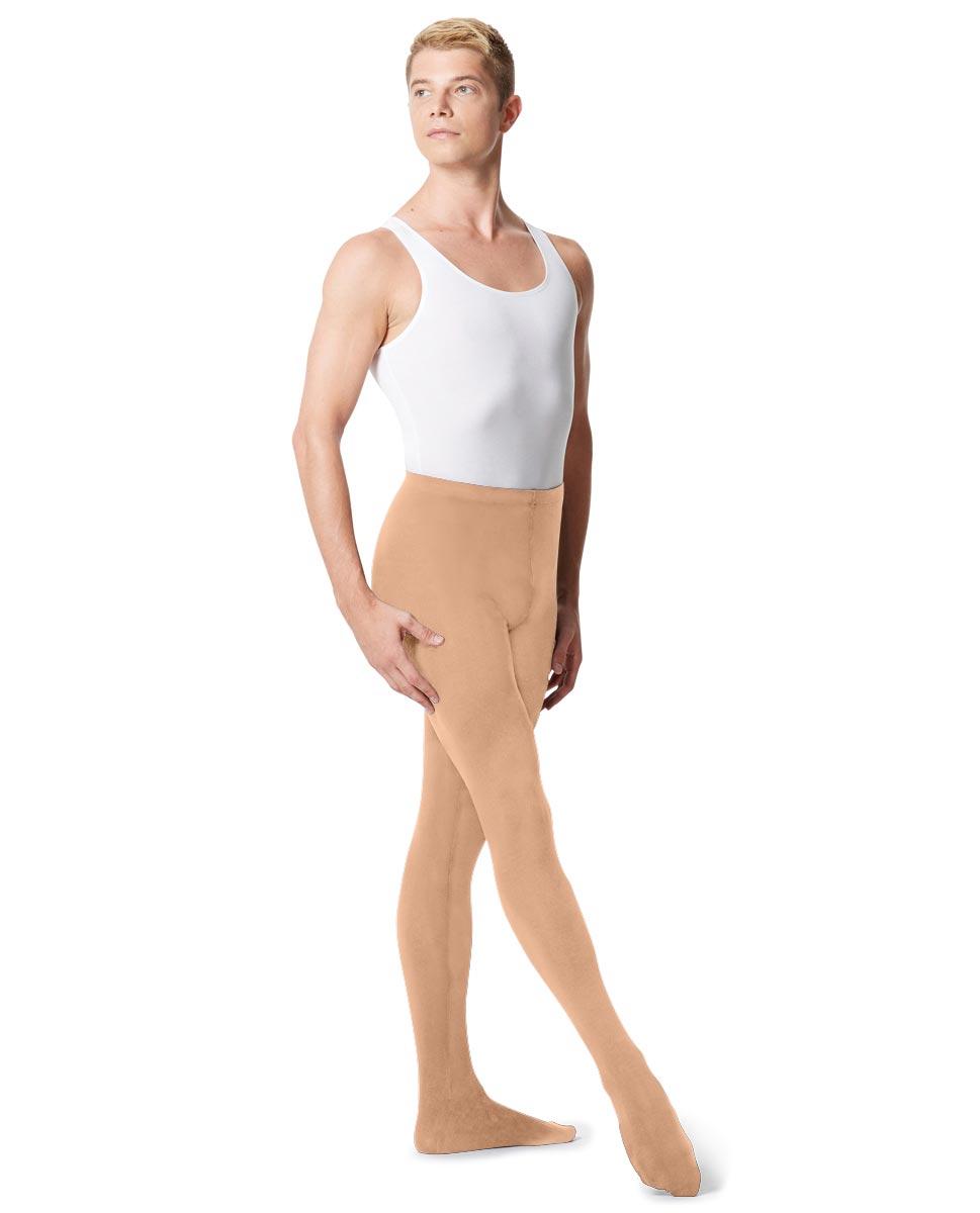 Mens High Waist Footed Dance Leggings Norbert DNUD