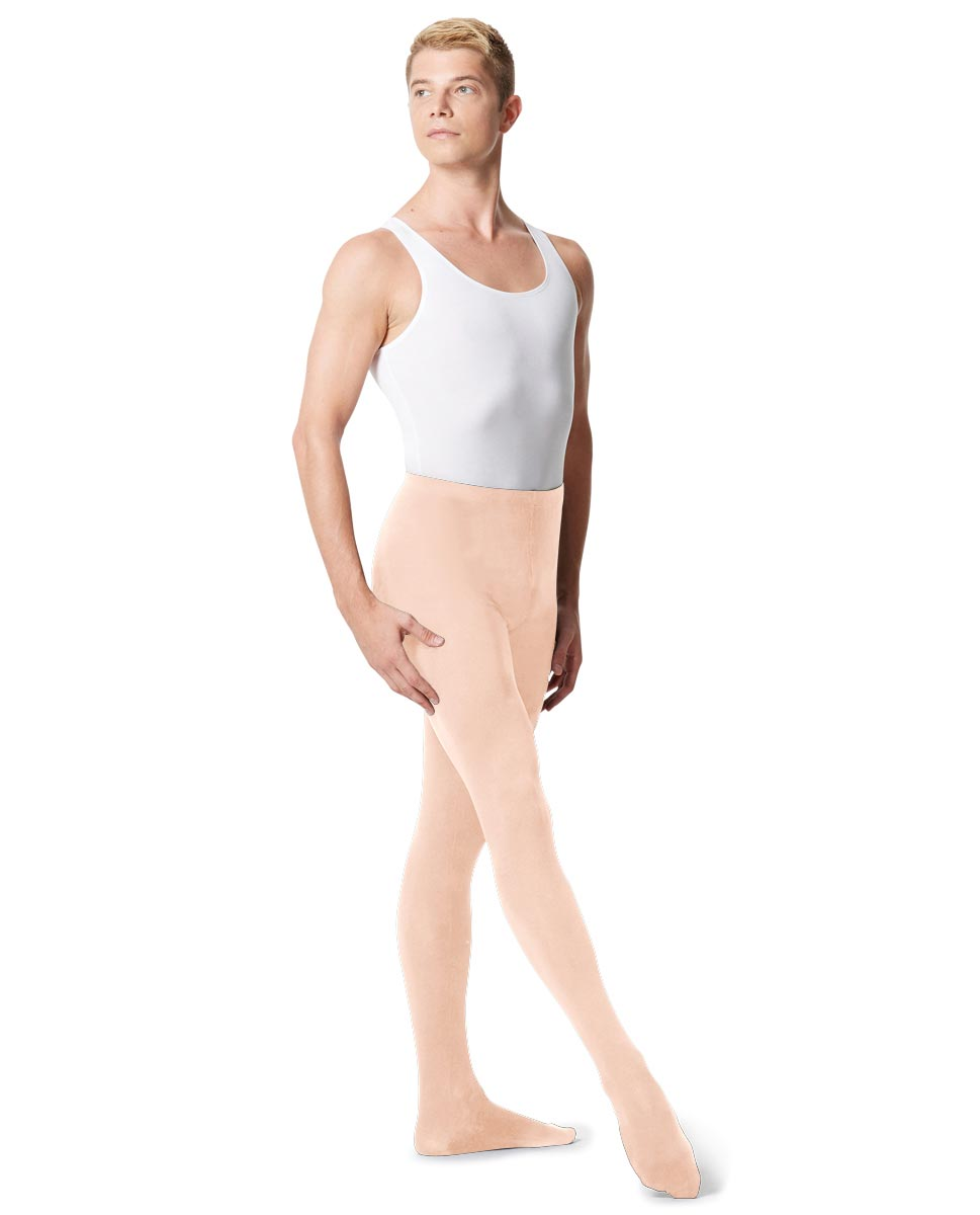 Mens High Waist Footed Dance Leggings Norbert LNUD