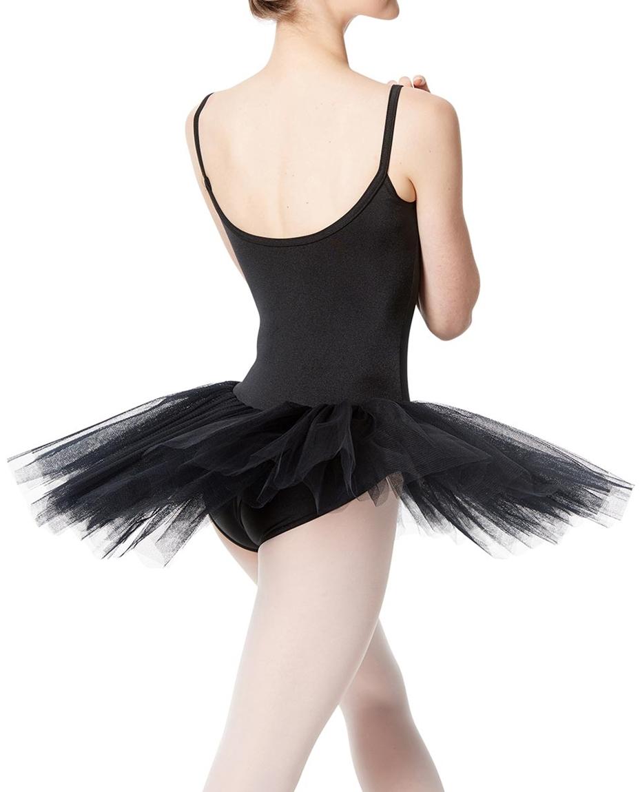 Girls Practice 4 Layers Tutu Dress BACK-girls-practice-4-layers-tutu-dress
