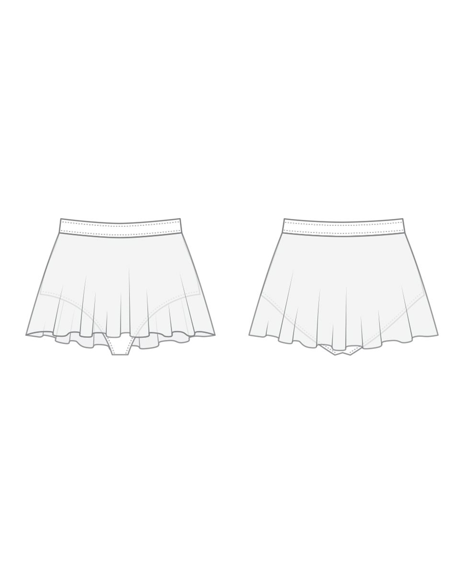 Mesh Dance Skirt Sydney with Built in Brief For Women 2-mesh-dance-skirt-sydney-with-built-in-brief-for-women