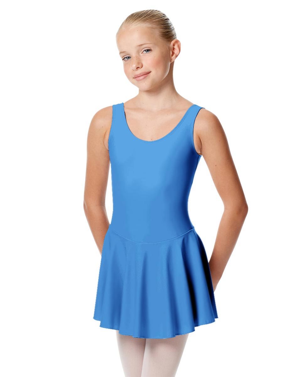 Child Skirted Ballet Tank Leotard Yasmin LBLU