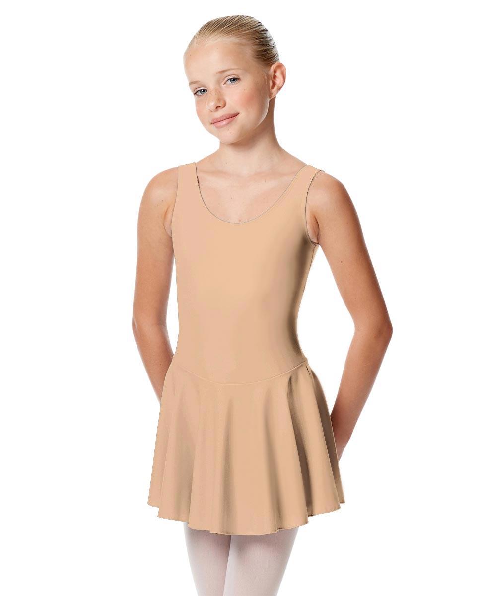 Child Skirted Ballet Tank Leotard Yasmin NUD