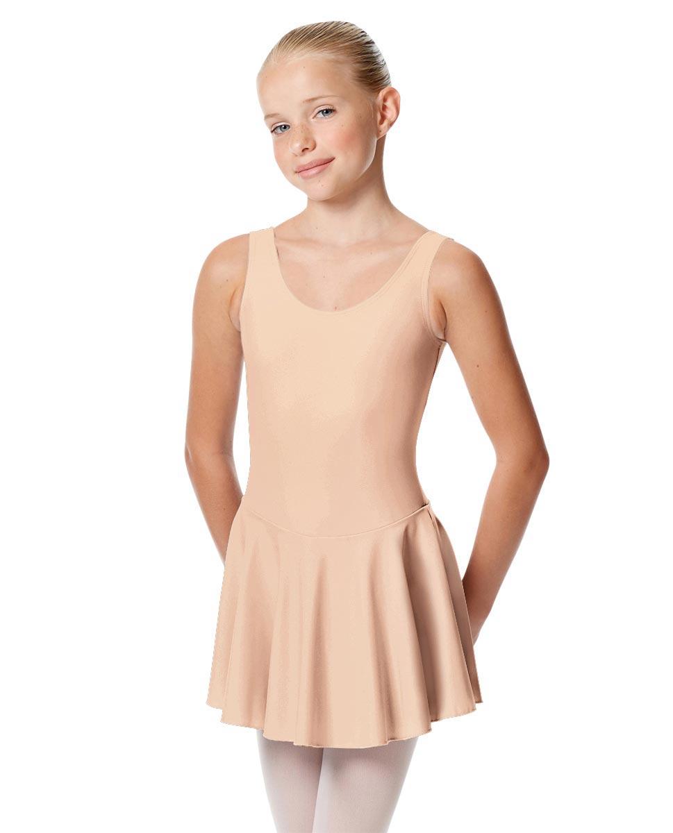 Child Skirted Ballet Tank Leotard Yasmin PEAC