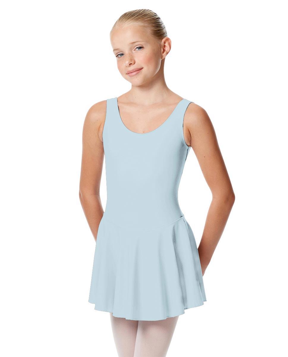 Child Skirted Ballet Tank Leotard Yasmin SKY