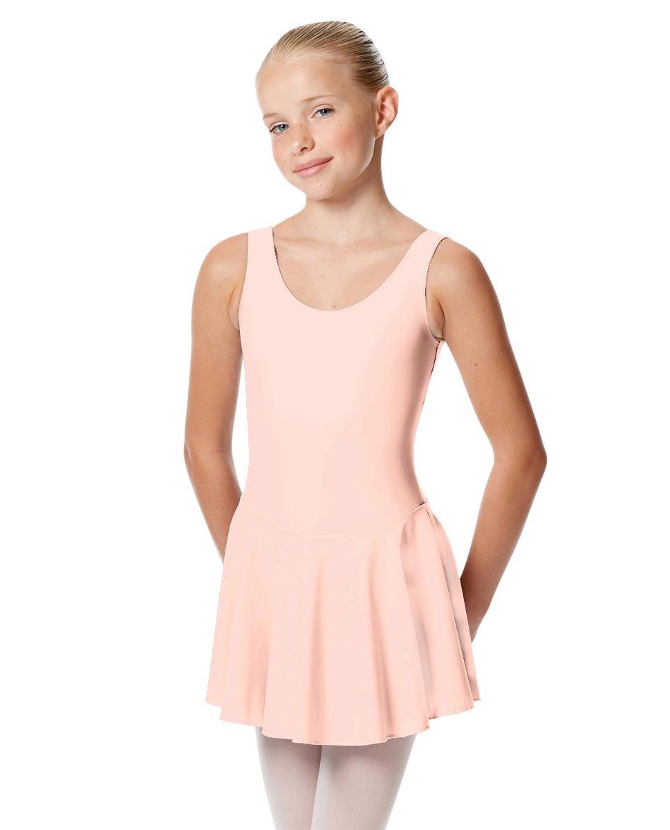 Child Skirted Ballet Tank Leotard Yasmin PNK