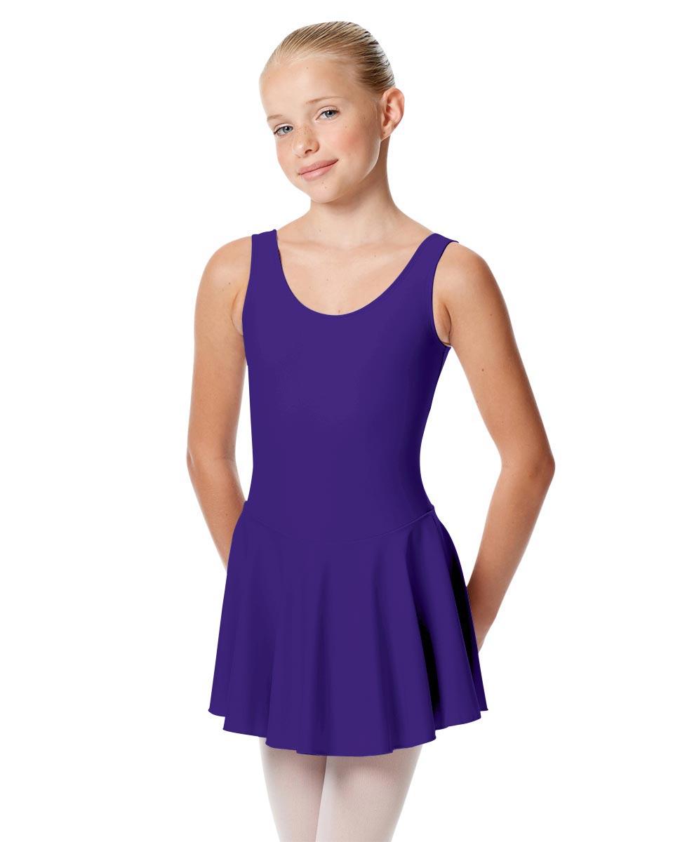 Child Skirted Ballet Tank Leotard Yasmin UMA