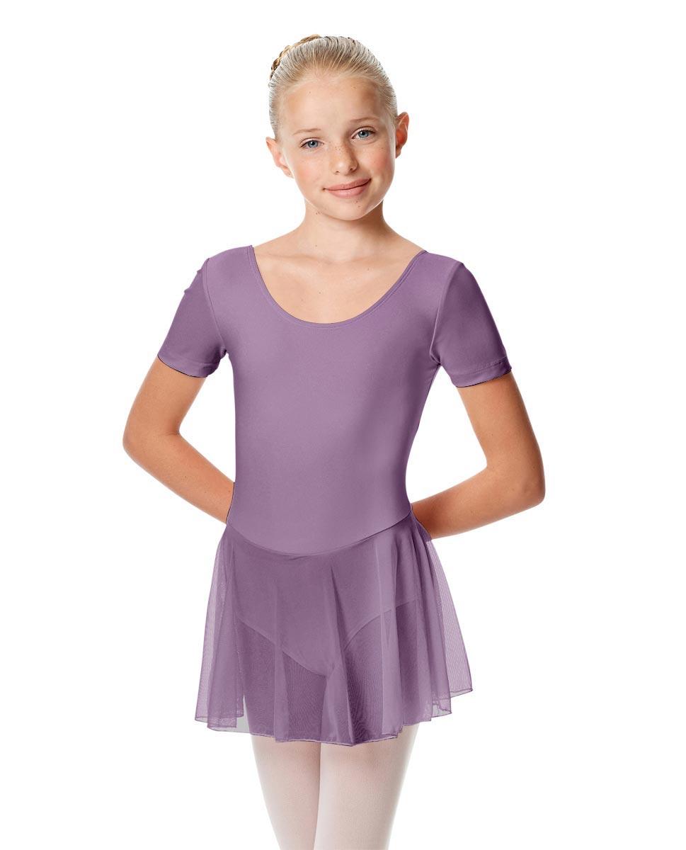 Child Short Sleeve Skirted Ballet Leotard Nelly LAV