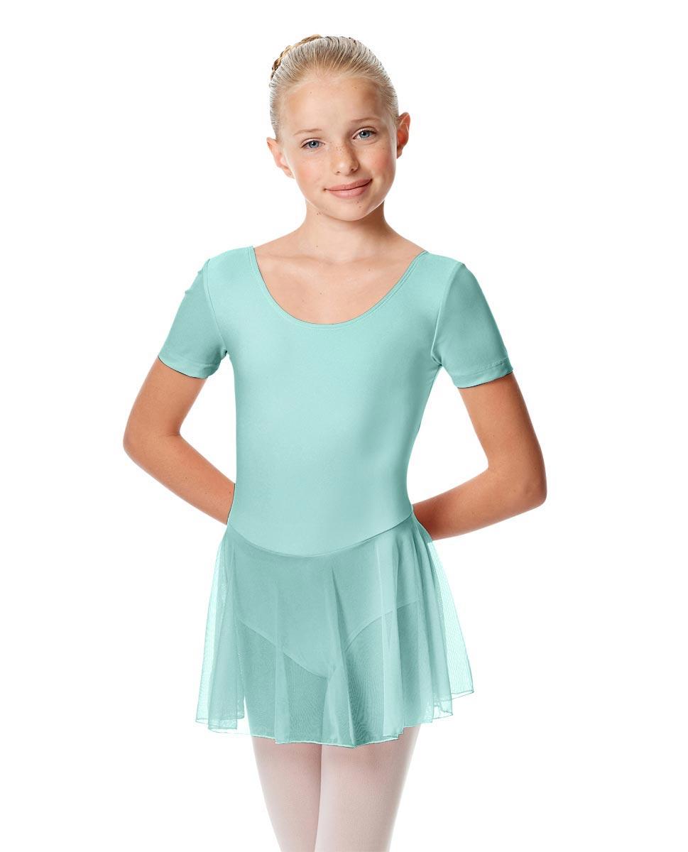 Child Short Sleeve Skirted Ballet Leotard Nelly CYB