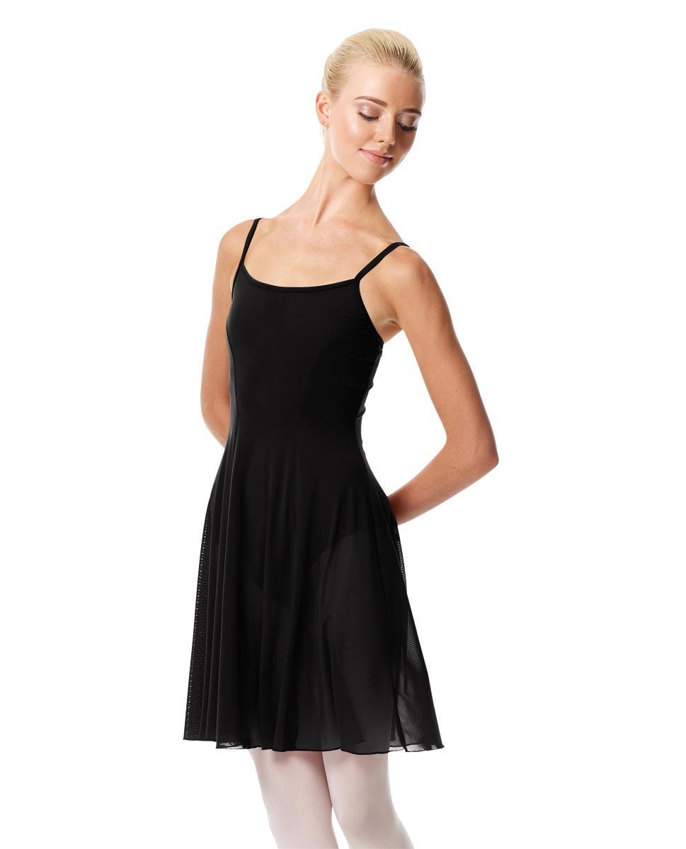 Womens Camisole Short Dance Dress Danielle BLK