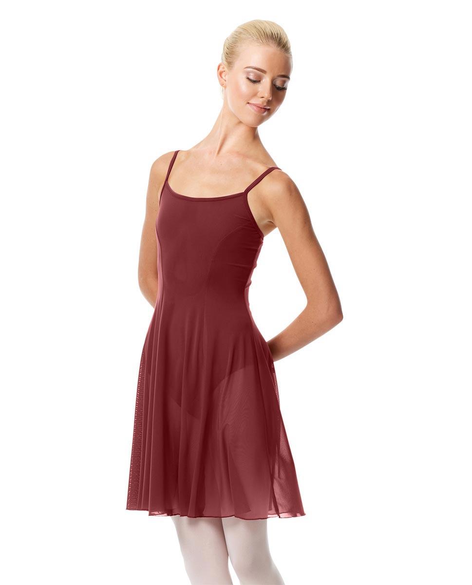 Womens Camisole Short Dance Dress Danielle BUR