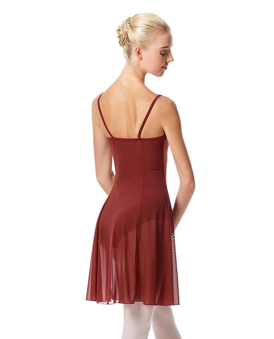 Womens Camisole Short Dance Dress Danielle back-womens-camisole-short-dance-dress-danielle