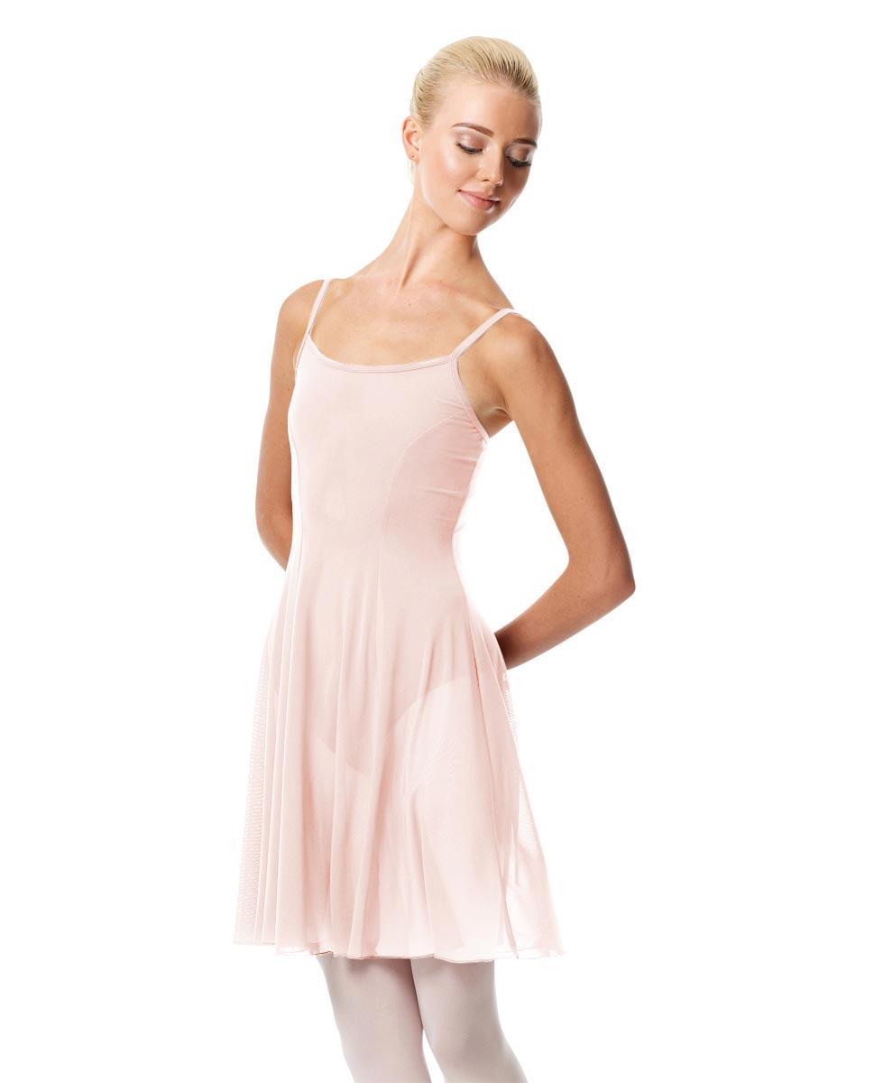 Womens Camisole Short Dance Dress Danielle PNK