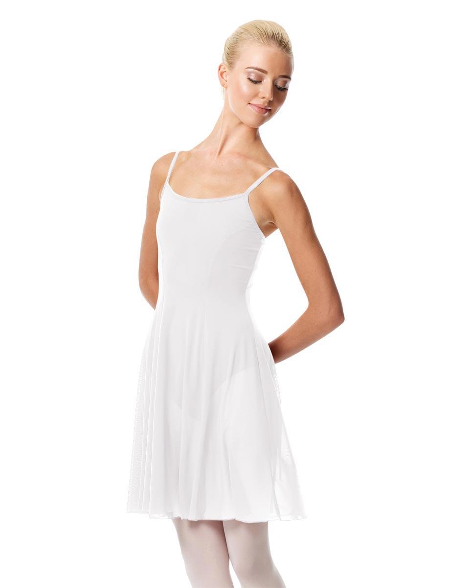 Womens Camisole Short Dance Dress Danielle WHI
