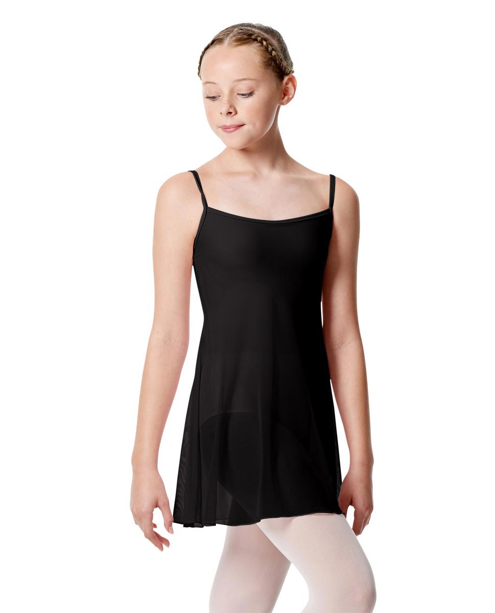 Girls Camisole Short Ballet Dress Danielle BLK
