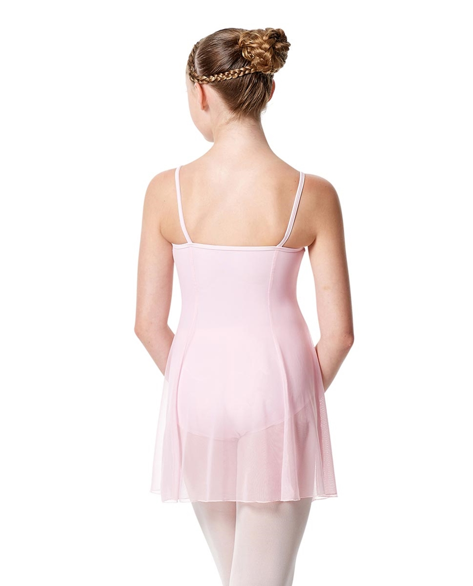 Girls Camisole Short Ballet Dress Danielle back-girls-camisole-short-ballet-dress-danielle
