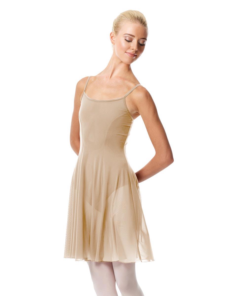 Womens Camisole Short Dance Dress Danielle NUD