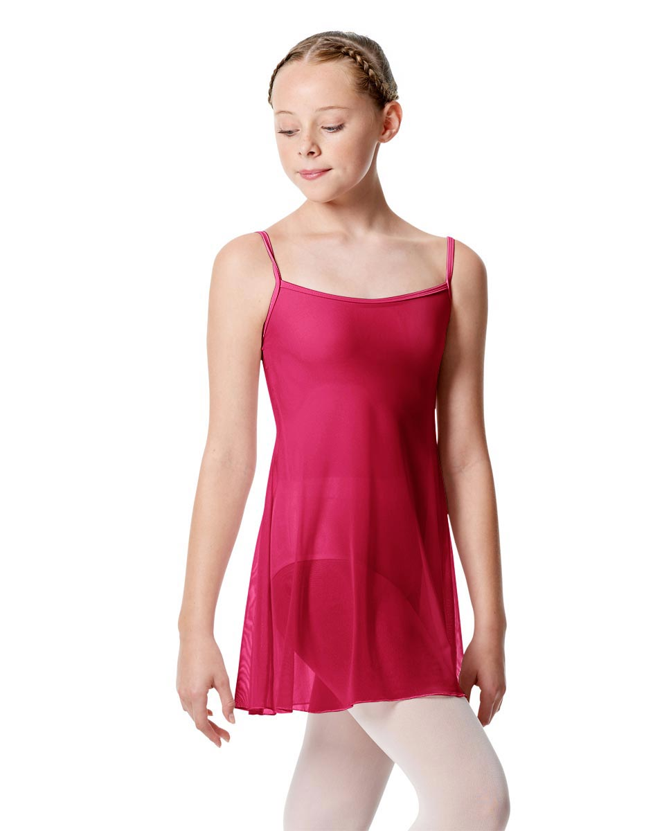 Girls Camisole Short Ballet Dress Danielle MUL