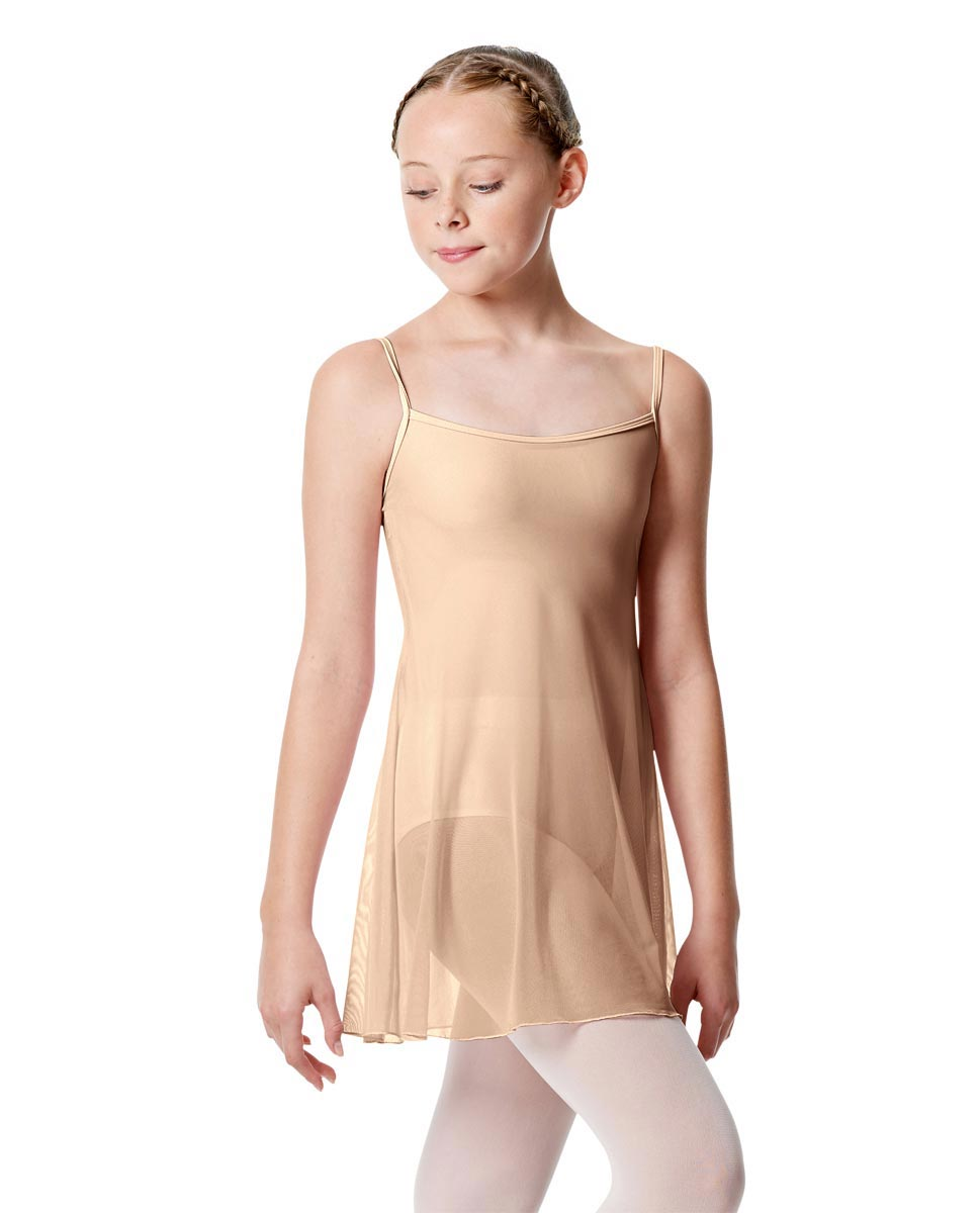 Girls Camisole Short Ballet Dress Danielle NUD
