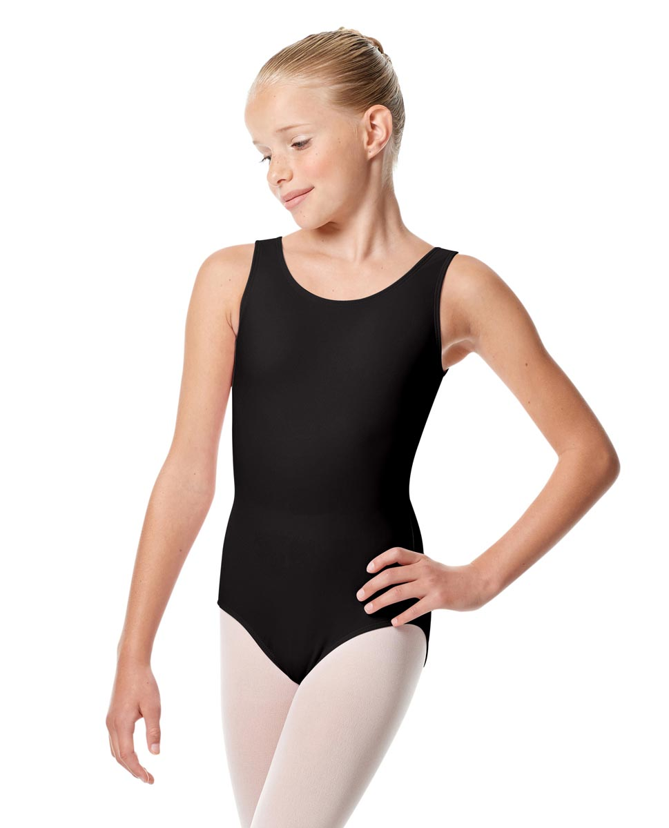 Child Tank Dance Leotard Alessandra BLK