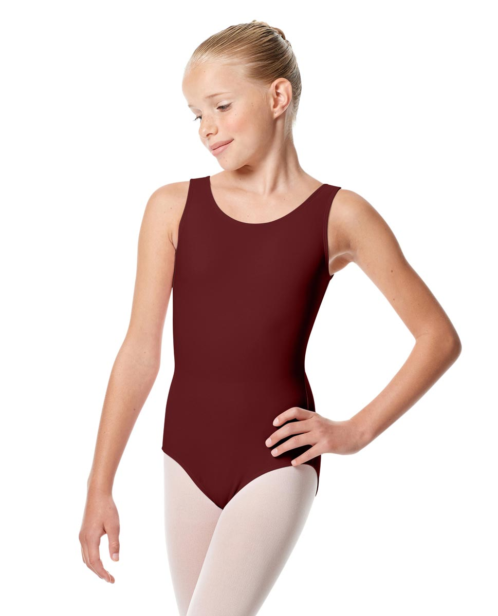 Child Tank Dance Leotard Alessandra BUR
