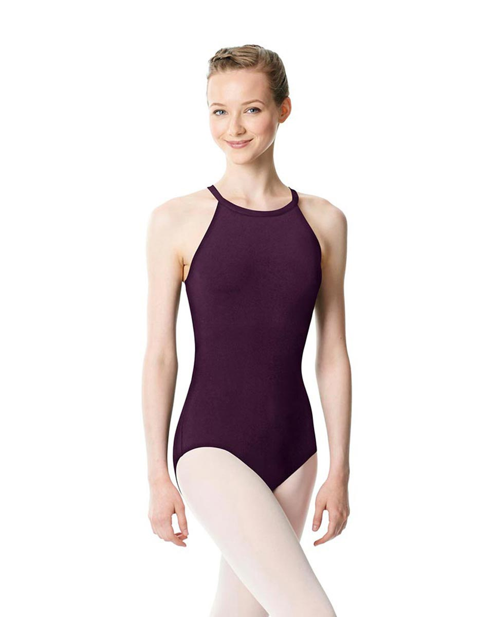 High Neck Tank Dance Leotard Ivana AUB