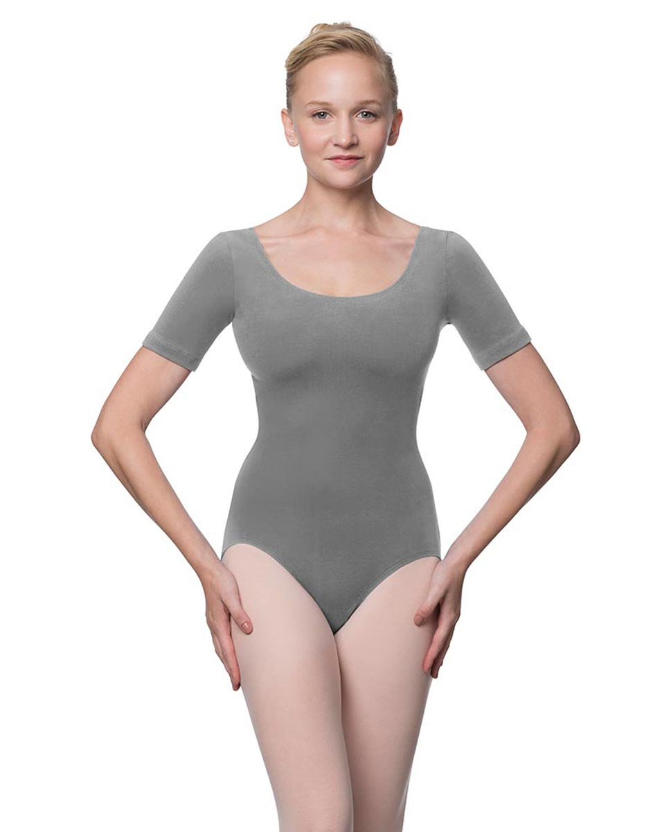 Adults Fitted Short Sleeve Ballet Leotard Lauretta GRE