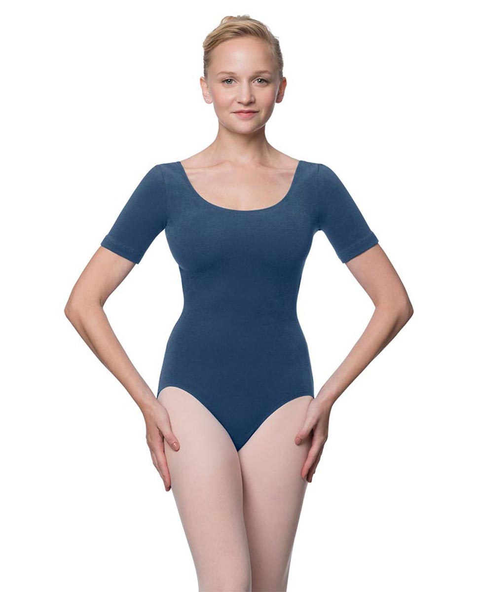 Adults Fitted Short Sleeve Ballet Leotard Lauretta JEA