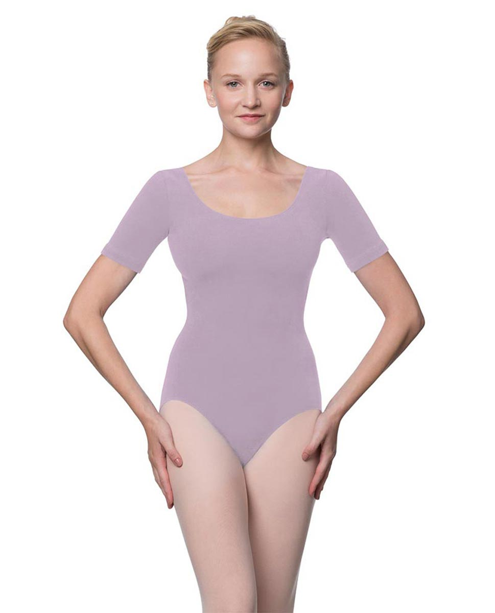 Adults Fitted Short Sleeve Ballet Leotard Lauretta LIL