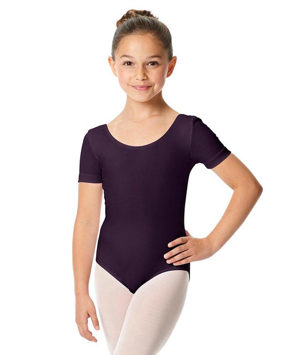 Child Short Sleeve Ballet Leotard Lauretta AUB