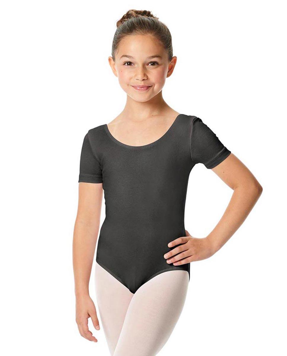 Child Short Sleeve Ballet Leotard Lauretta DGRE