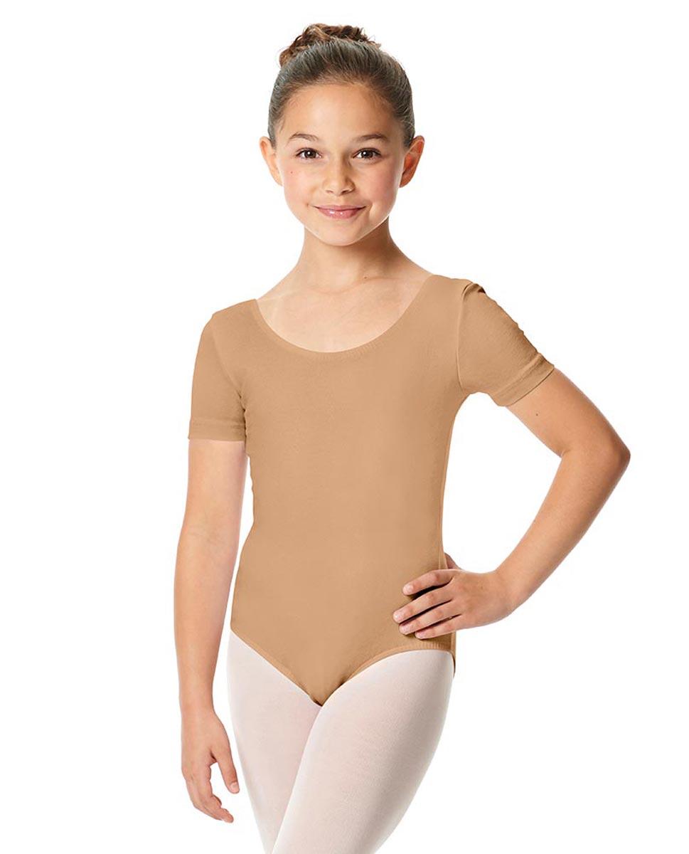 Child Short Sleeve Ballet Leotard Lauretta DNUD