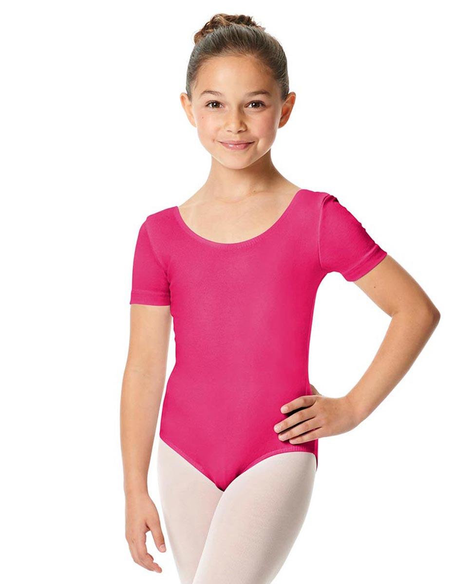 Child Short Sleeve Ballet Leotard Lauretta FUC