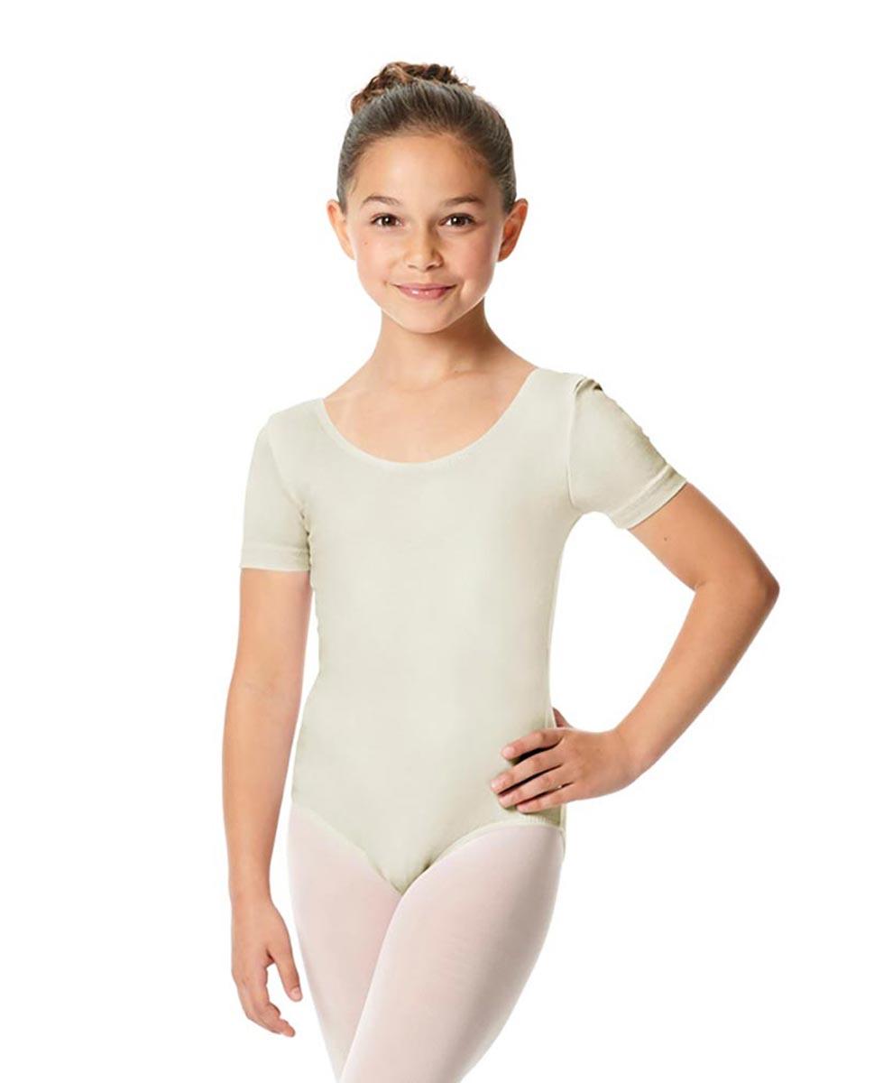 Child Short Sleeve Ballet Leotard Lauretta IVOR