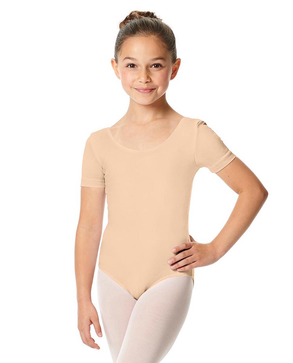 Child Short Sleeve Ballet Leotard Lauretta LNUD